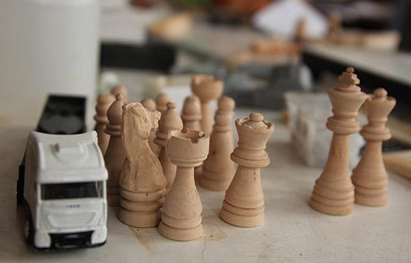 schaakstenen