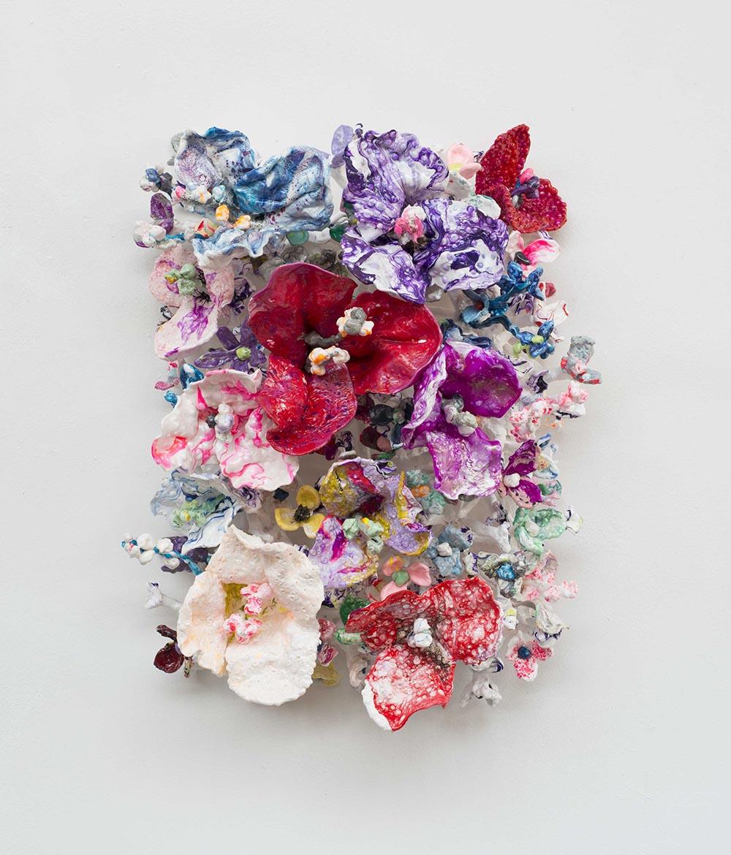 'Flower Bonanza' red50x 70 x30cm